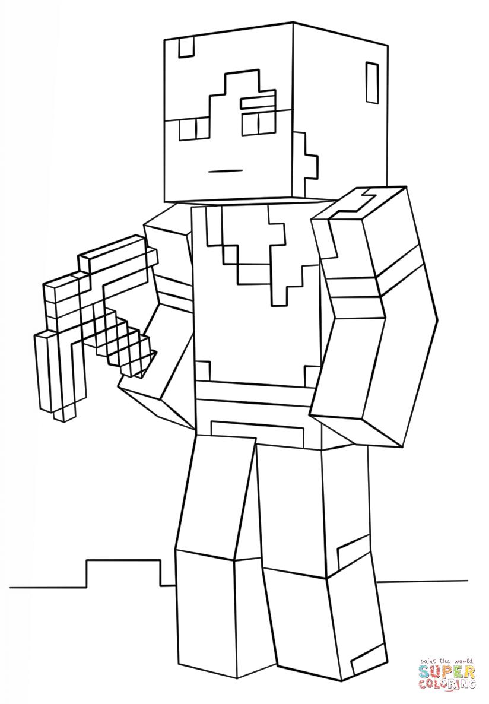 mincraft coloring pages minecraft alex super coloring coloring pages pages mincraft coloring