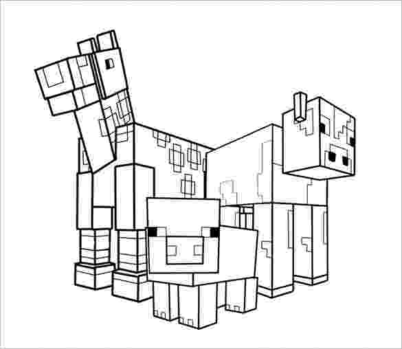 minecraft animal coloring pages minecraft animal coloring pages getcoloringpagescom pages minecraft coloring animal