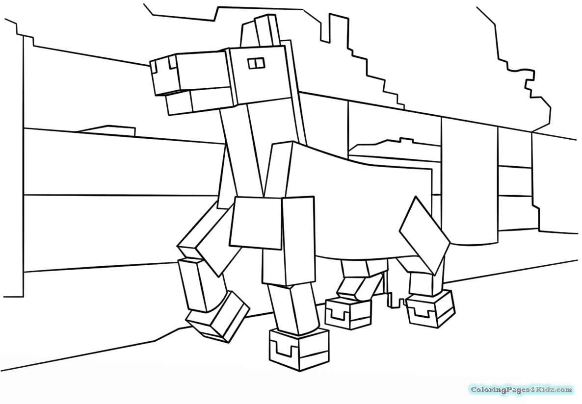 minecraft animal coloring pages minecraft coloring pages getcoloringpagescom animal minecraft pages coloring