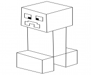 minecraft creeper pictures to color minecraft drawing creeper at getdrawingscom free for to color pictures minecraft creeper