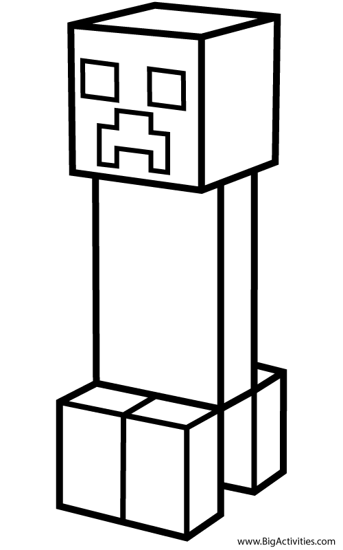 minecraft creeper pictures to color minecraft enderman coloring pages getcoloringpagescom creeper color minecraft to pictures