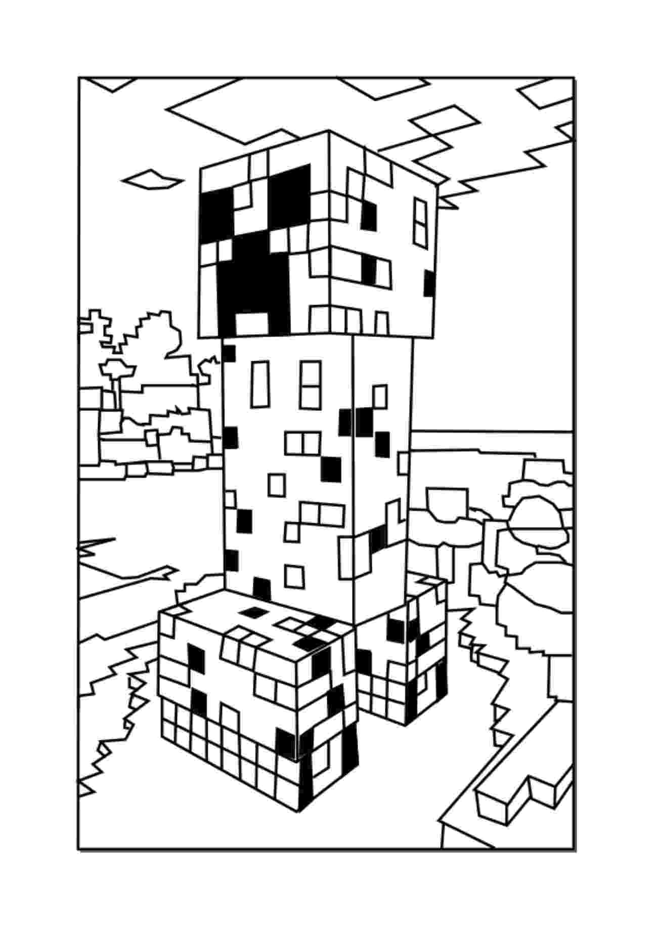 minecraft images printable 37 free printable minecraft coloring pages for toddlers minecraft images printable