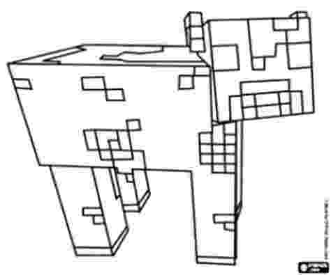 minecraft ocelot coloring pages a minecraft enderman coloring page birthday ideas coloring ocelot minecraft pages