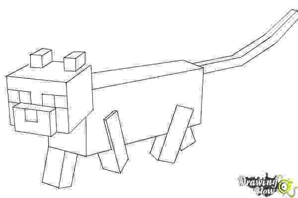 minecraft ocelot coloring pages how to draw an ocelot from minecraft drawingnow pages ocelot minecraft coloring
