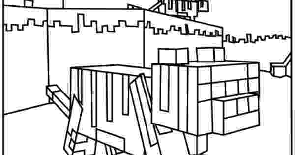 minecraft ocelot coloring pages minecraft animal coloring pages getcoloringpagescom coloring ocelot pages minecraft