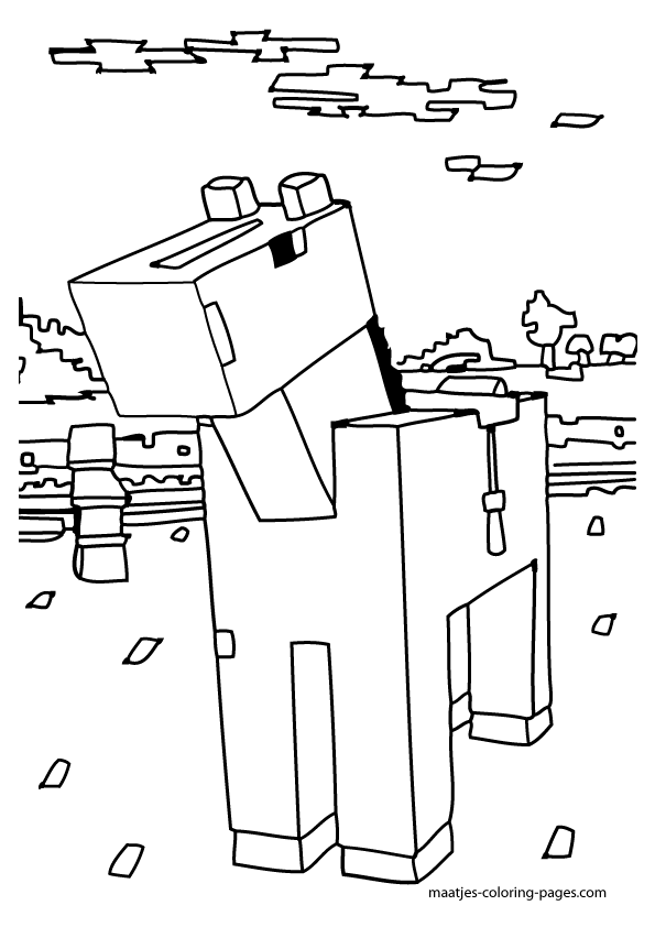minecraft ocelot coloring pages minecraft coloring page with a picture of an ocelot to ocelot pages coloring minecraft