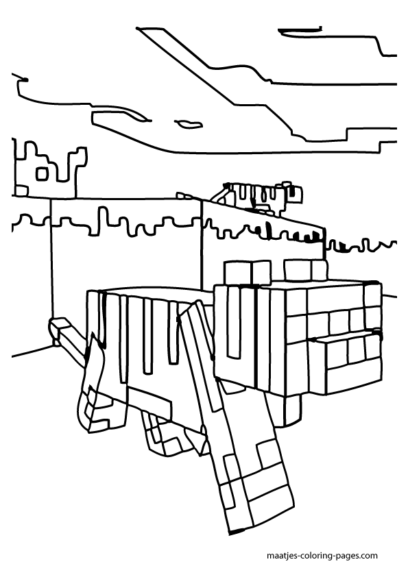 minecraft ocelot coloring pages minecraft ocelot coloring pages 01 printables coloring pages ocelot minecraft