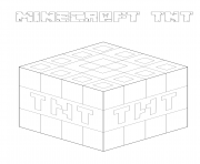 minecraft tnt picture minecraft tnt block free coloring pages minecraft picture tnt