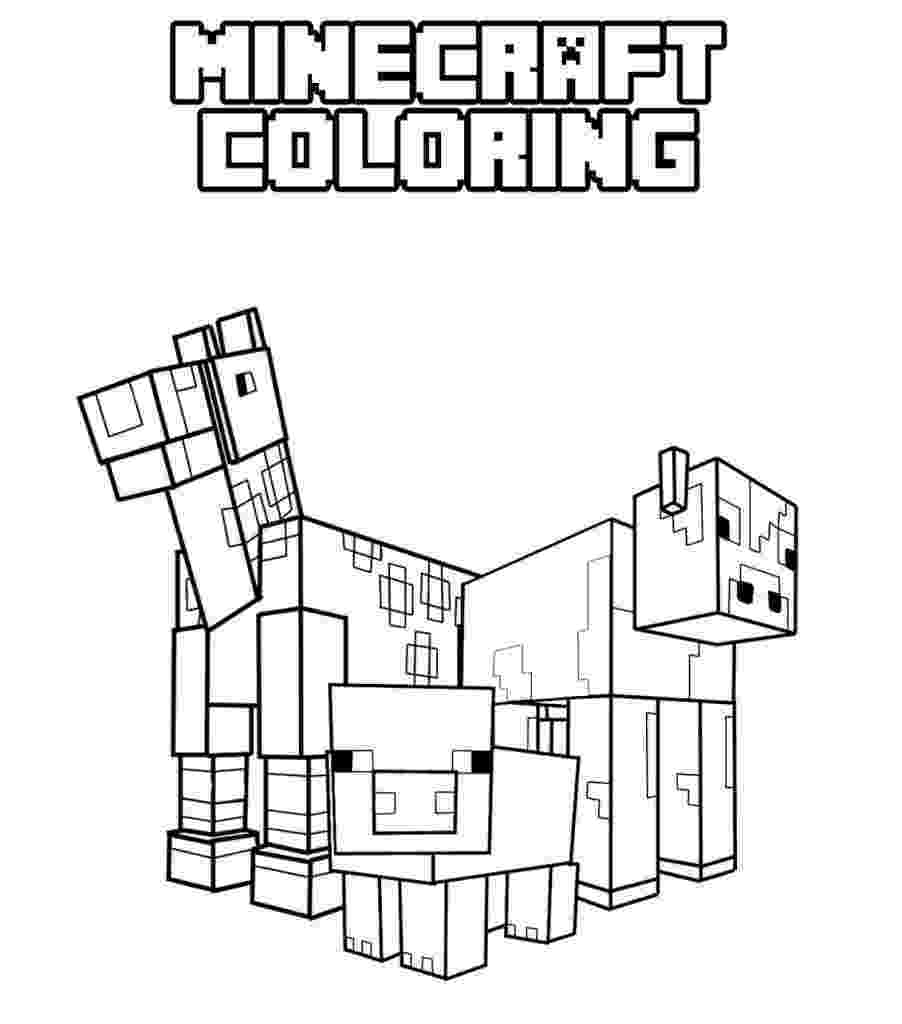minecraft to color minecraft coloring pages getcoloringpagescom to color minecraft
