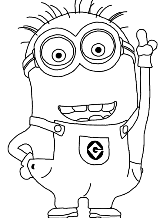 minion coloring angry captain minion coloring page wecoloringpagecom minion coloring
