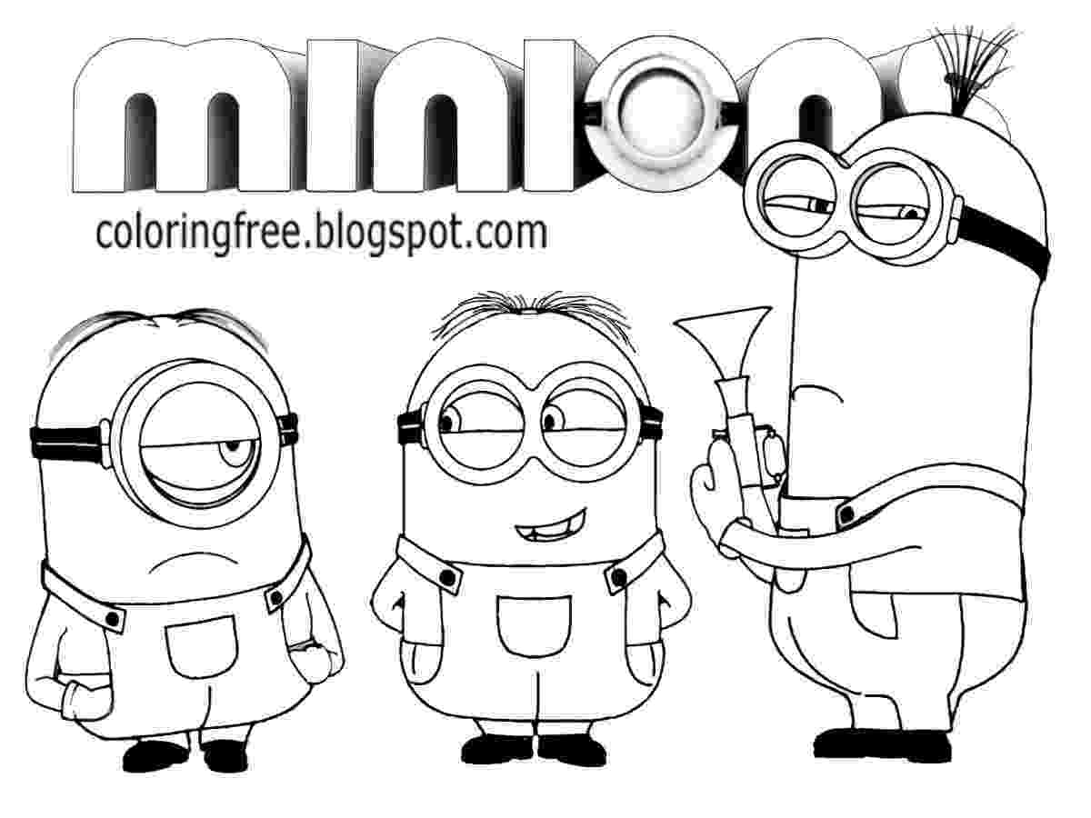 minion coloring pages online minions coloring pages getcoloringpagescom online minion pages coloring