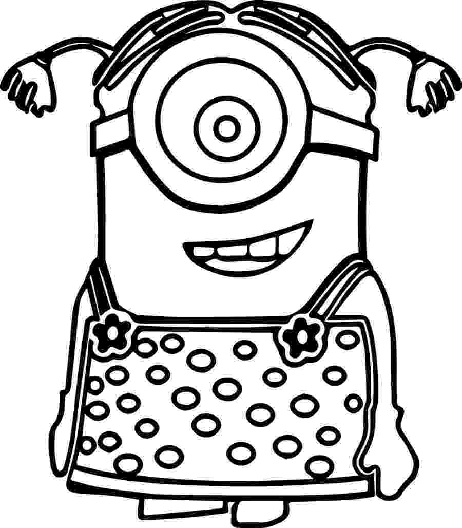 minion coloring to print minion coloring pages from despicable me for free minion coloring 1 1