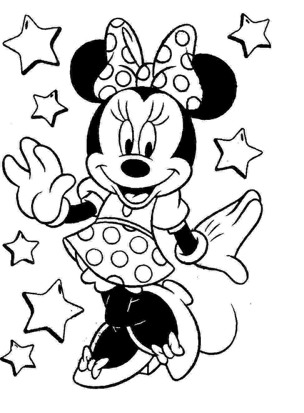 minnie mouse coloring sheet free disney minnie mouse coloring pages sheet coloring minnie mouse
