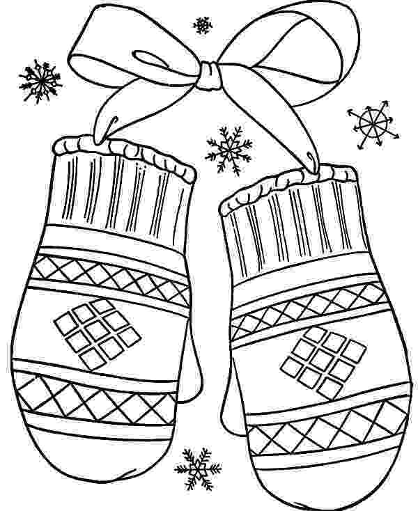 mitten coloring pages mittens gloves coloring pages color luna pages coloring mitten