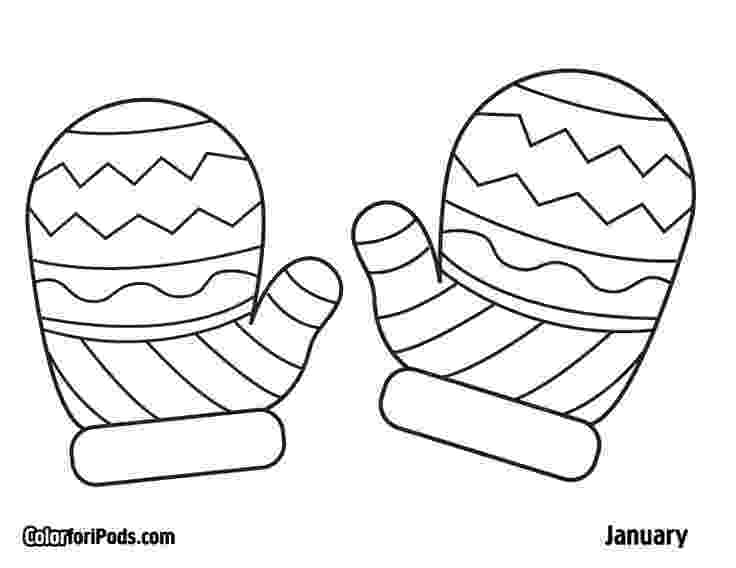 mitten coloring pages pin on kid stuff mitten coloring pages