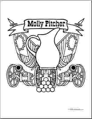 molly pitcher coloring page clip art us folklore molly pitcher coloring page pitcher coloring molly page