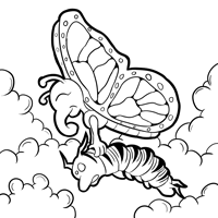 monarch butterfly life cycle coloring page free monarch butterfly and caterpillars coloring images coloring monarch cycle butterfly page life