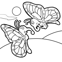 monarch butterfly life cycle coloring page free monarch butterfly and caterpillars coloring images life butterfly coloring cycle monarch page 1 1