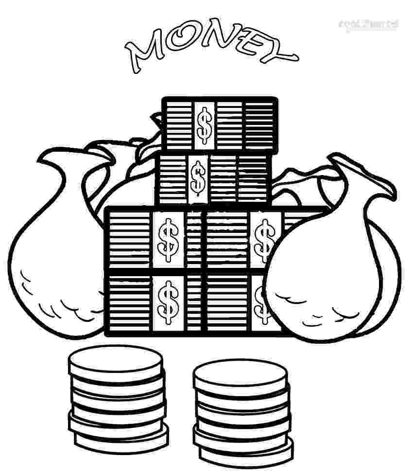 money coloring page free money coloring pages dollar bills money page coloring