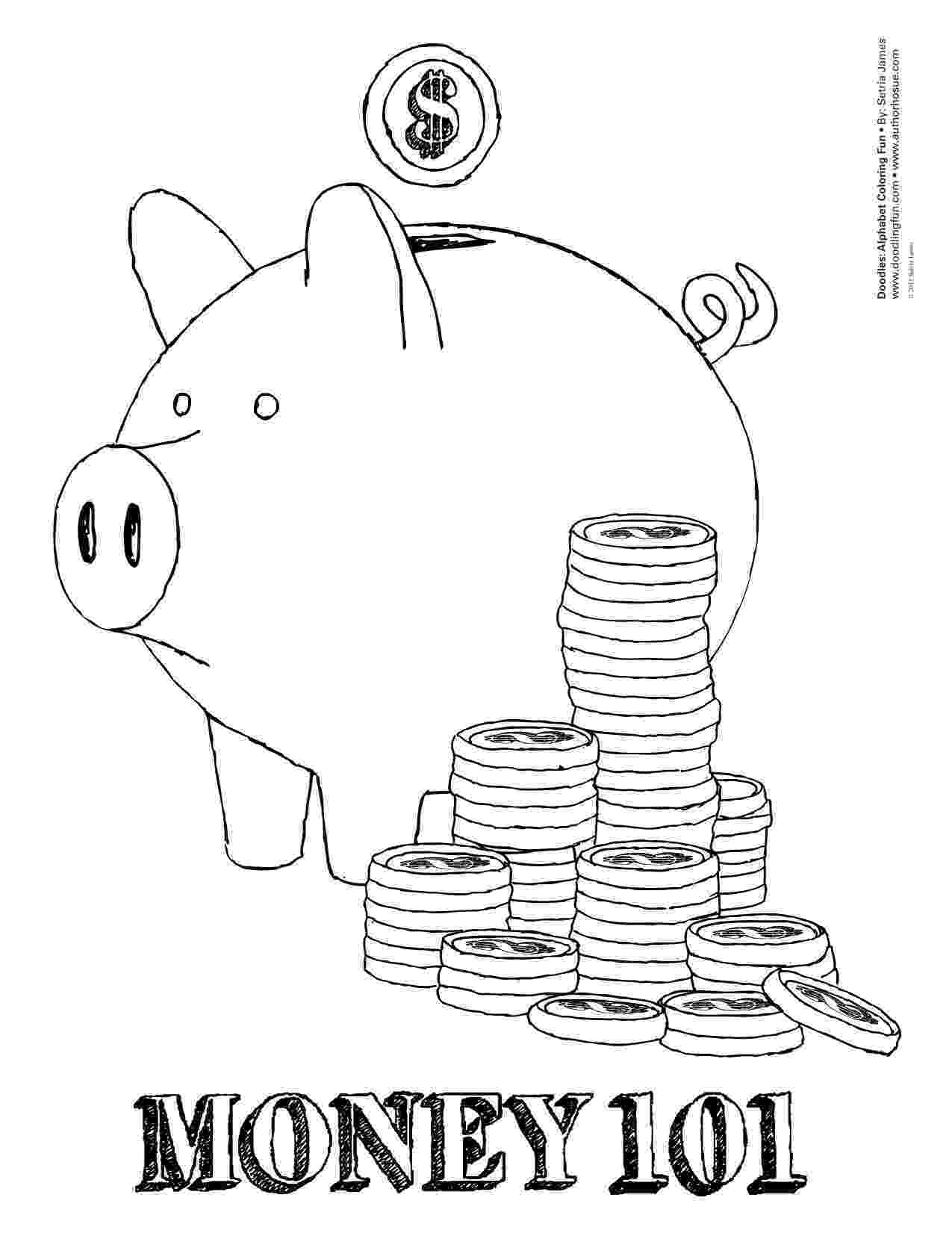 money coloring page printable money coloring pages for kids cool2bkids coloring page money