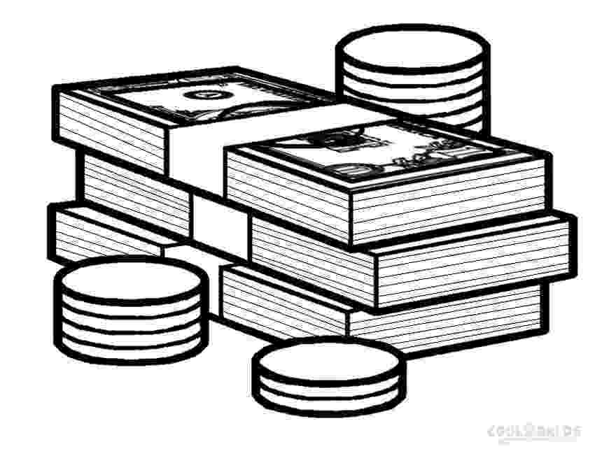 money coloring page printable money coloring pages for kids cool2bkids page money coloring