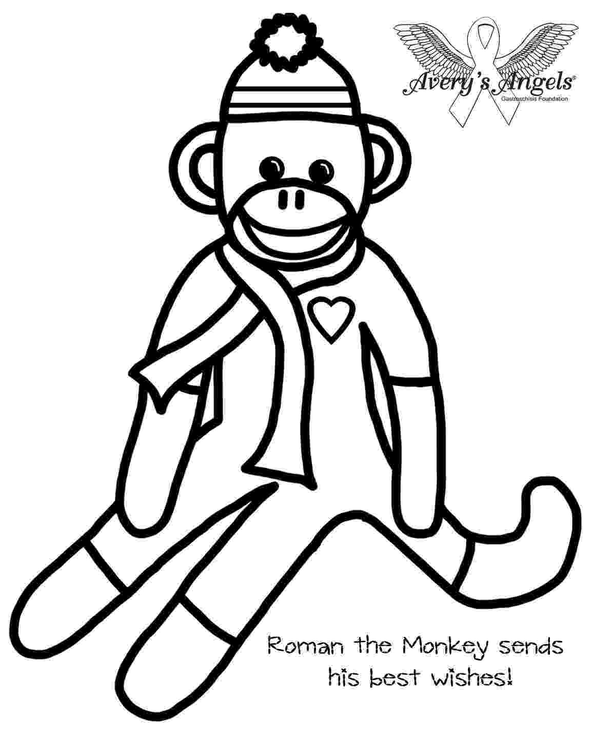 monkey color pages monkeys to color for kids monkeys kids coloring pages color monkey pages