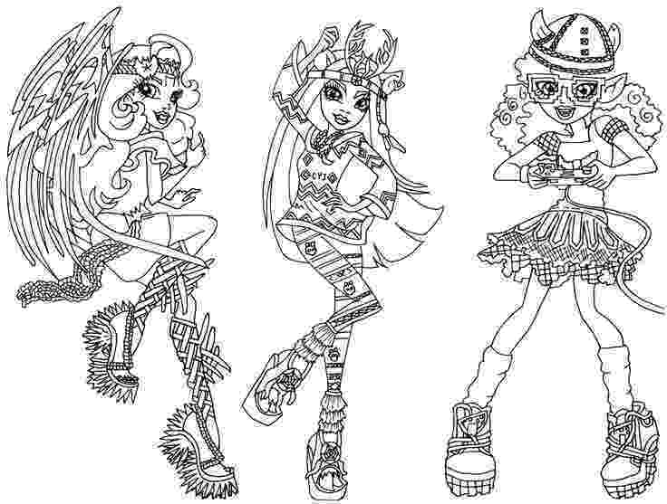 monster high coloring book games free printable monster high coloring pages for kids monster book coloring high games
