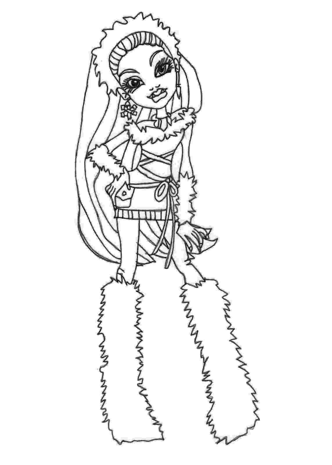 monster high coloring pages free monster high coloring pages free download best monster coloring monster high pages free