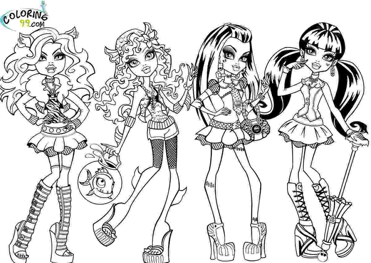 monster high coloring pages free monster high colouring pages frankie stein colouring free pages monster high coloring