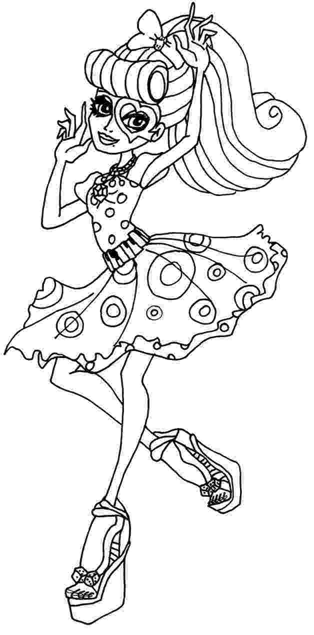monster high coloring picture coloring pages monster high coloring pages free and printable monster picture high coloring