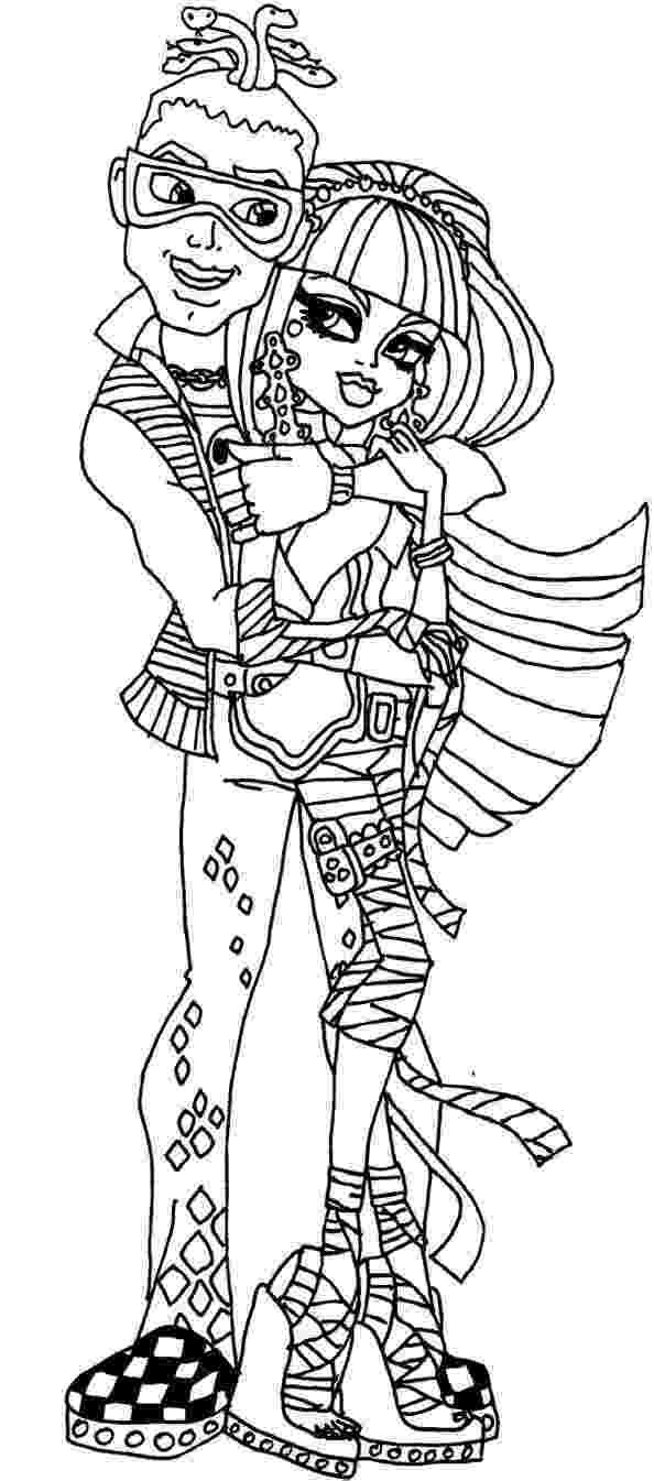 monster high deuce deuce gorgon monster high coloring pages free coloring deuce high monster