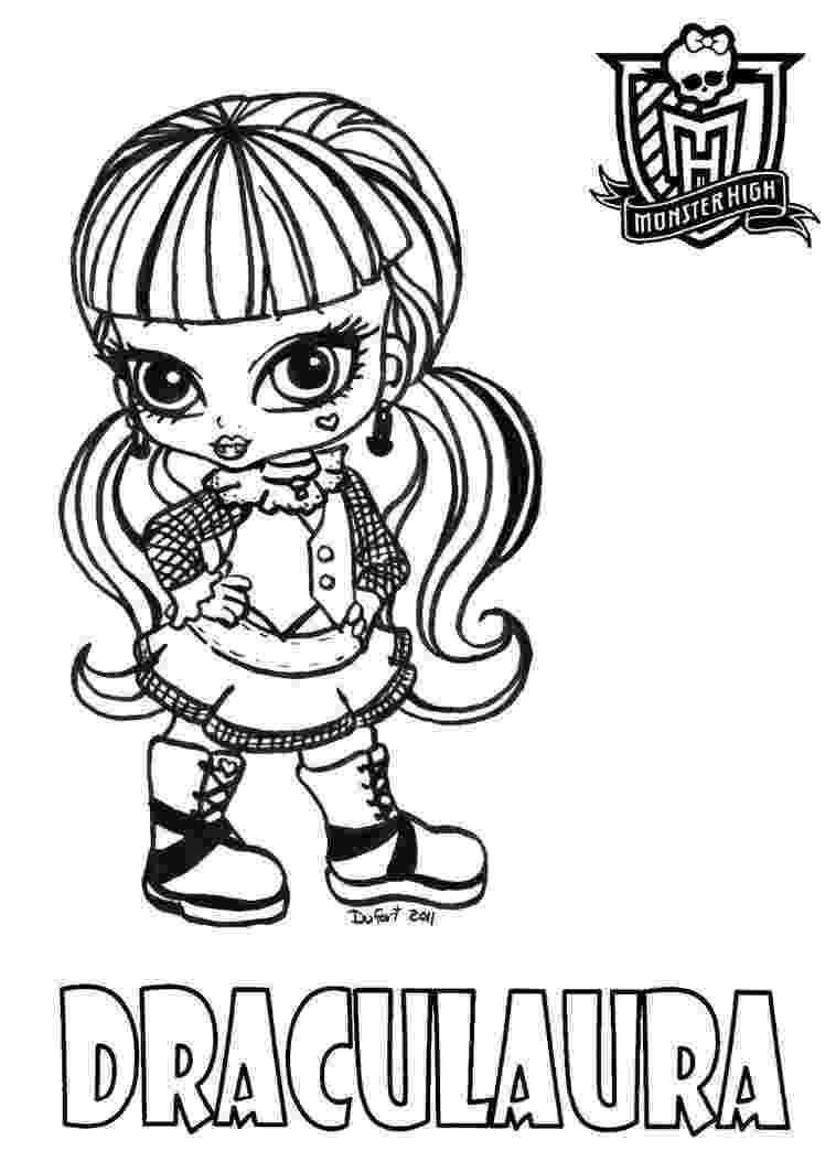 monster high free colouring pages all about monster high dolls baby monster high character pages colouring free monster high
