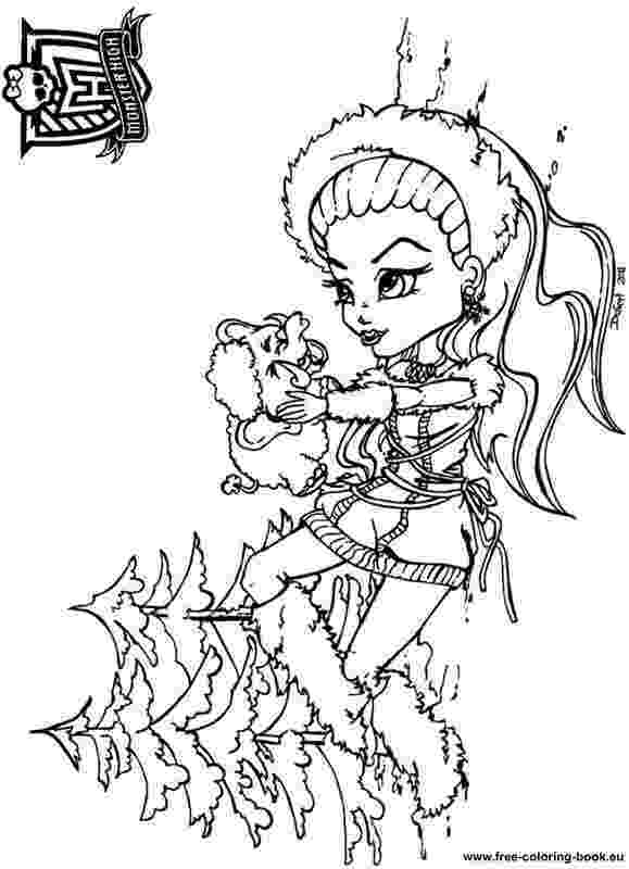 monster high free colouring pages monster high coloring pages getcoloringpagescom high free monster pages colouring