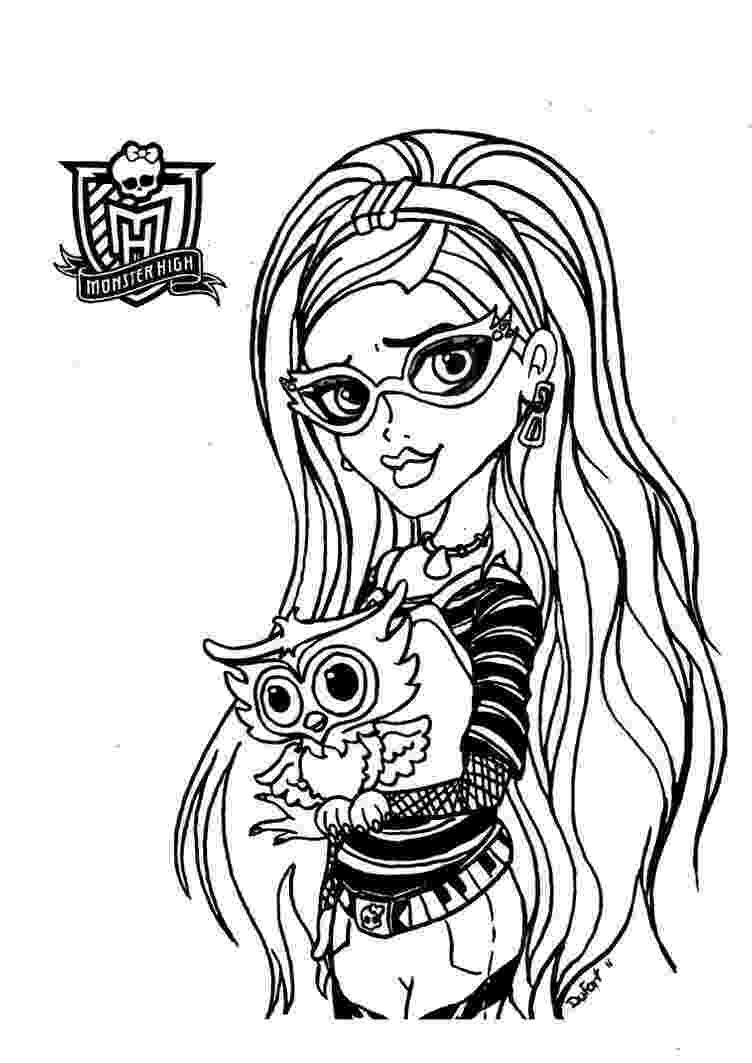 monster high pages to color coloring pages monster high coloring pages free and printable to color pages high monster