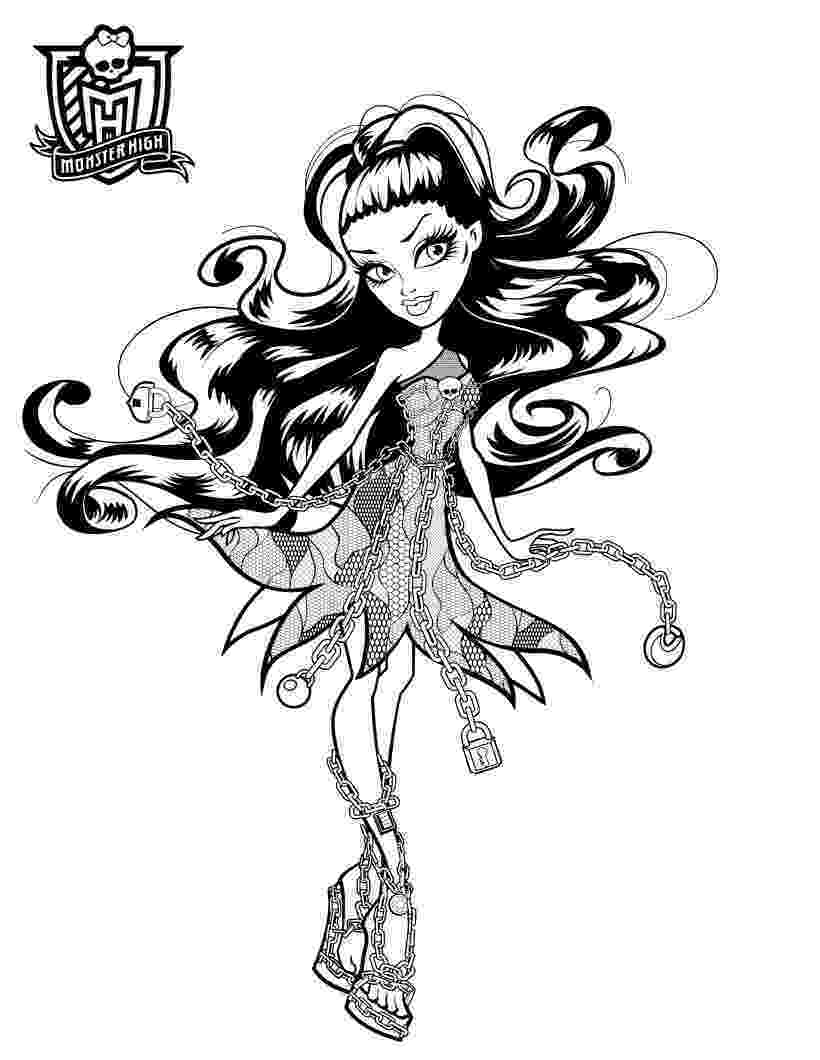 monster high printable coloring pages all about monster high dolls baby monster high character printable pages monster high coloring