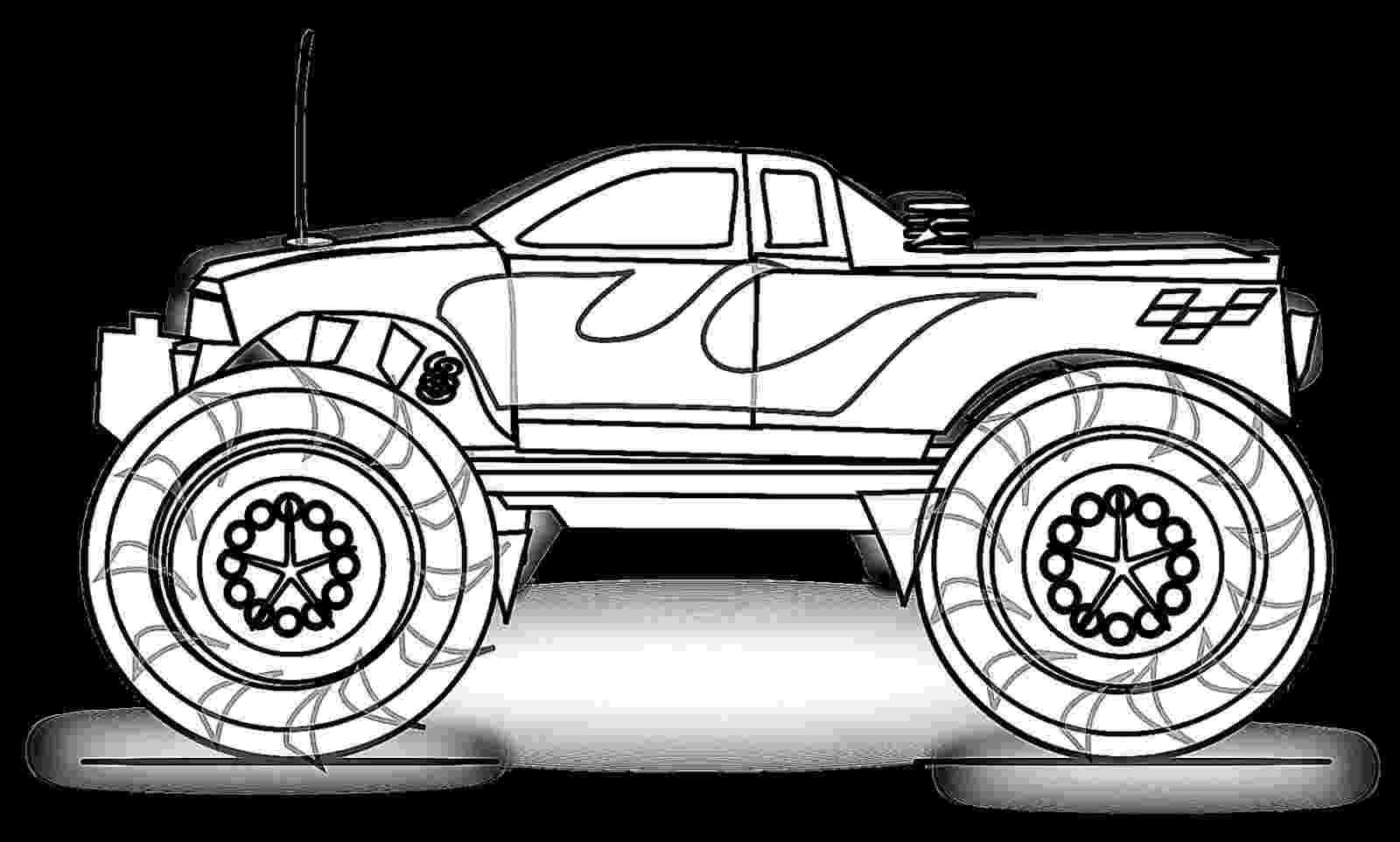 monster truck color page bigfoot monster truck coloring page free printable truck monster page color
