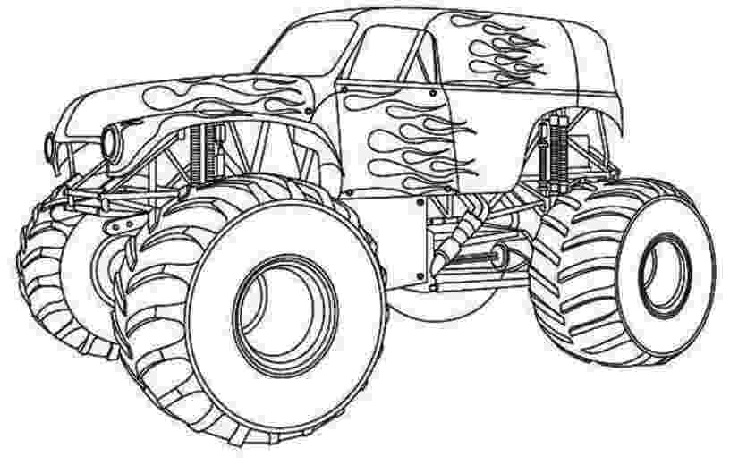 monster truck color page drawing monster truck coloring pages with kids monster truck page color