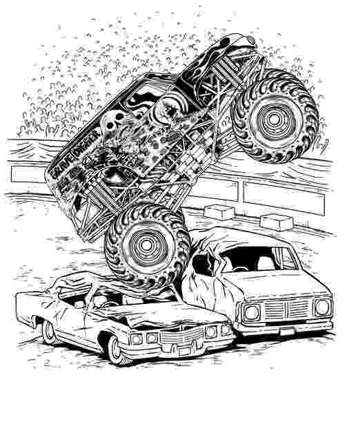 monster truck color page monster truck coloring pages for boys page truck monster color