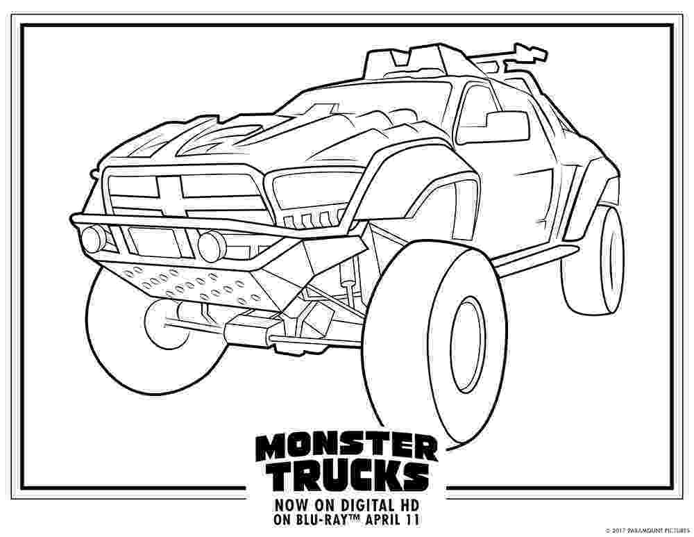 monster truck color page monster trucks printable coloring pages all for the boys monster truck page color