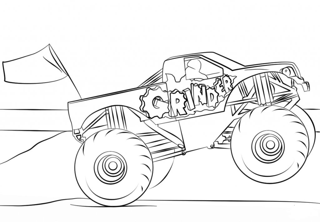 monster truck coloring book download grave digger monster truck coloring pages coloring book truck monster