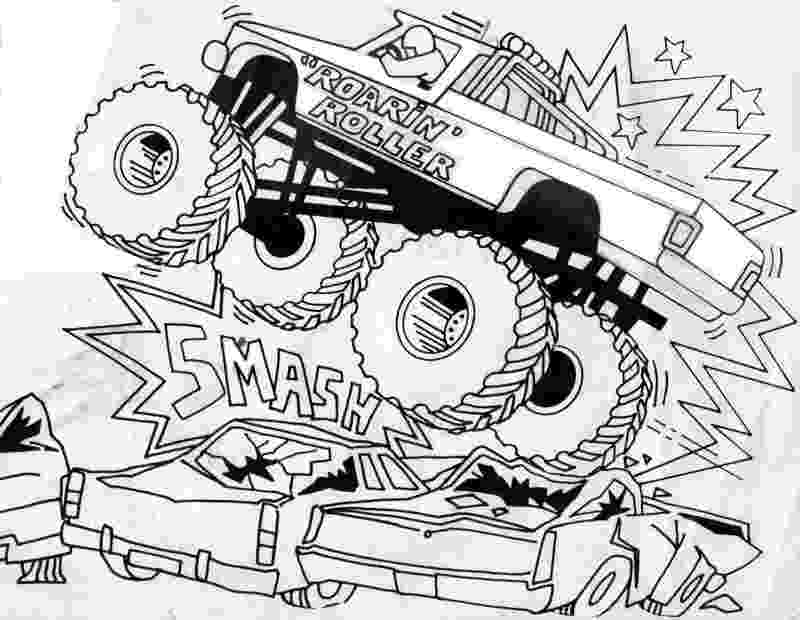 monster trucks to color free printable monster truck coloring pages for kids trucks to monster color