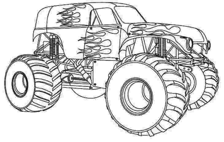 monster trucks to color monster truck coloring pages printable coloring for kids to monster color trucks