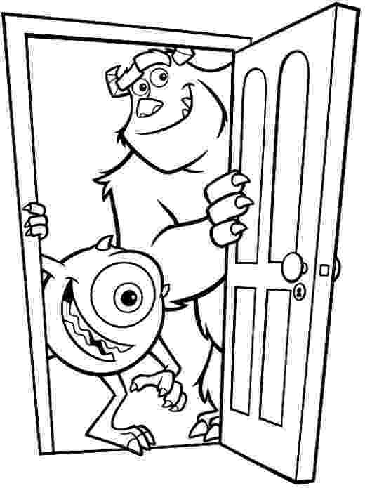 monsters inc coloring page monsters inc coloring pages coloring pages to download monsters inc page coloring