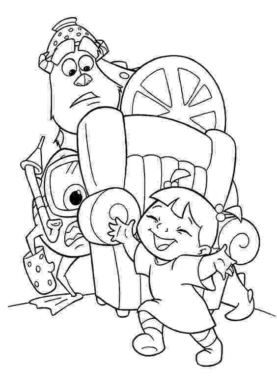 monsters inc pictures to colour monsters inc coloring pages getcoloringpagescom inc colour to pictures monsters
