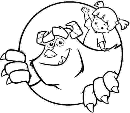monsters inc pictures to colour monsters inc coloring pages monster coloring pages colour monsters pictures inc to