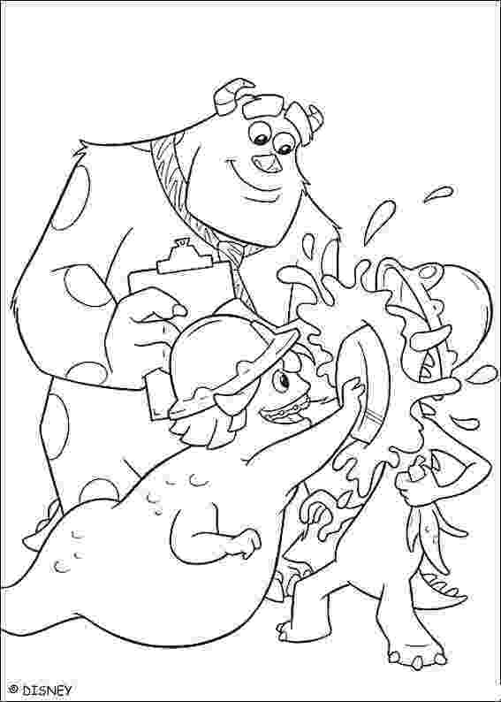 monsters inc pictures to colour monsters inc coloring pages monsters pictures to inc colour