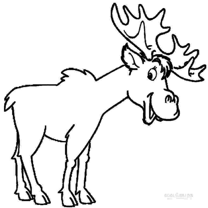 moose pictures to color moose coloring pages to download and print for free to moose pictures color