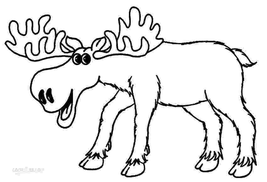 moose pictures to color printable moose coloring pages for kids cool2bkids color moose pictures to
