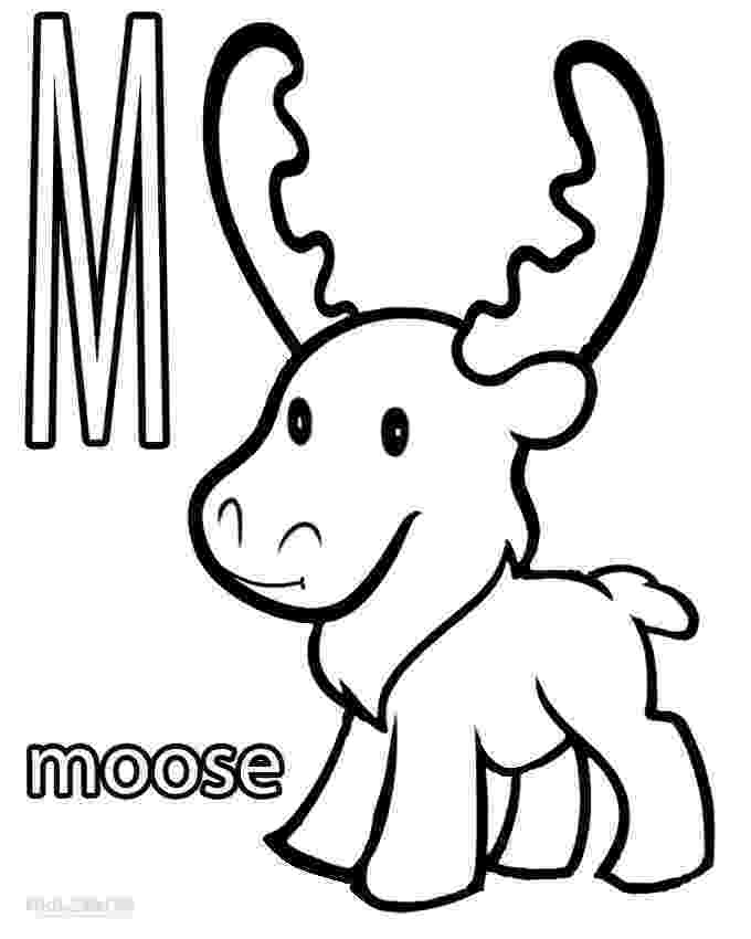 moose pictures to color printable moose coloring pages for kids cool2bkids to color moose pictures