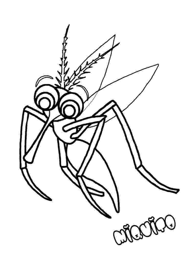 mosquito coloring page august 20 world mosquito day mosquito coloring page